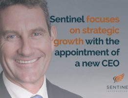 New CEO at Sentinel International